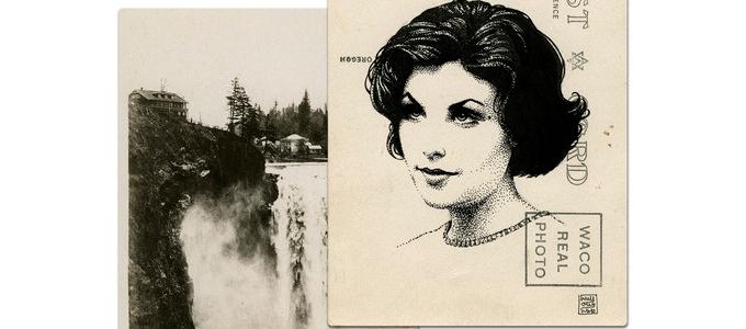 Почтовые открытки Твин Пикс