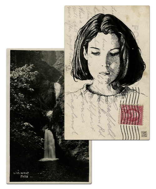 Почтовая открытка Донна Хейворд