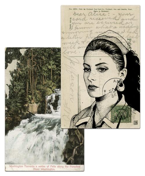 Почтовая открытка Шелли Джонсон