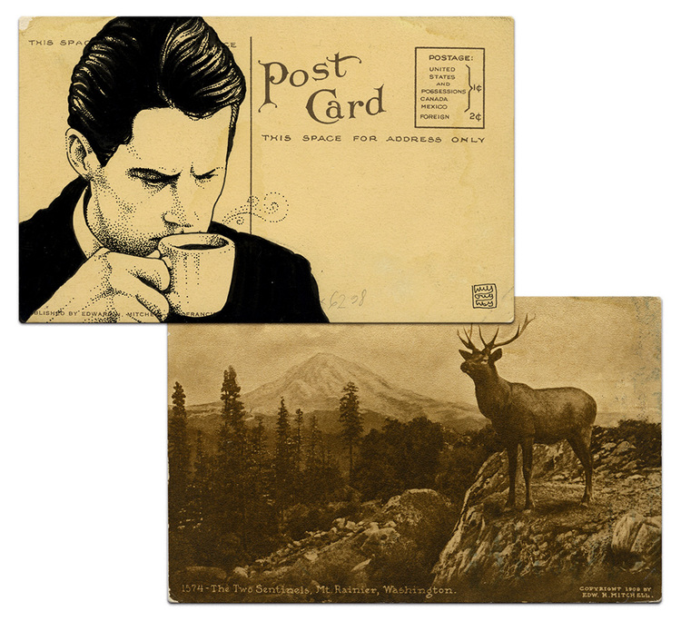 Почтовая открытка Дейл Купер