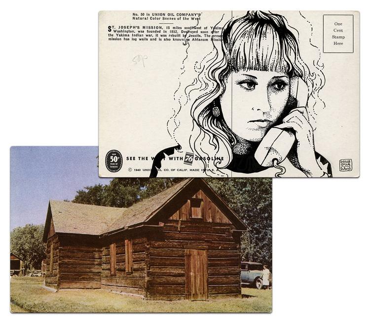 Почтовая открытка Люси Моран