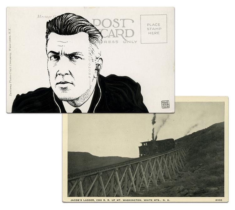 Почтовая открытка Гордон Коул