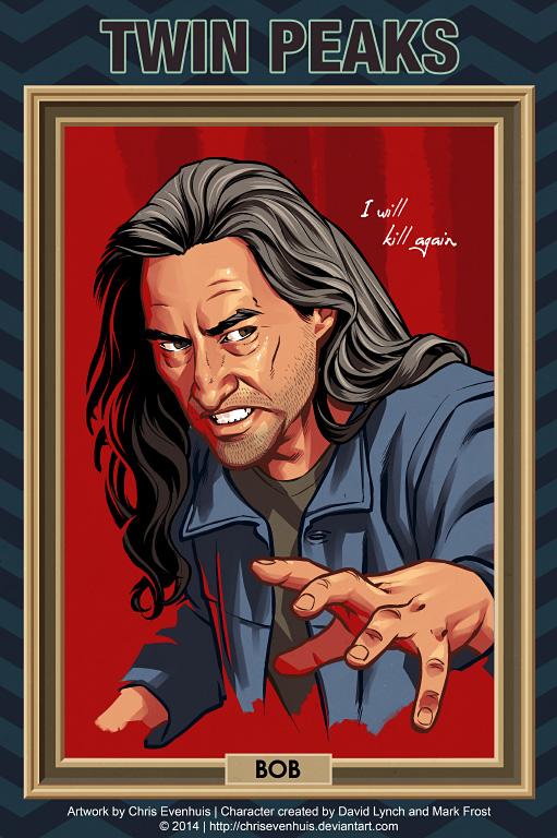 Боб портрет в стиле комиксов