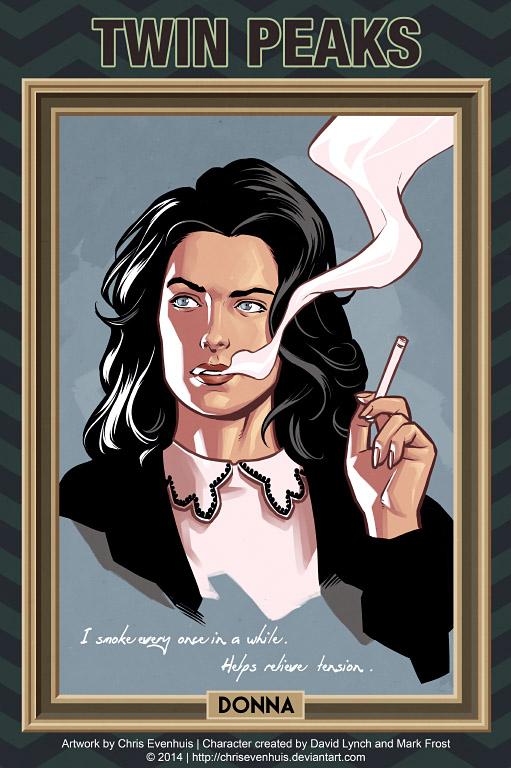 Донна Хейворд портрет в стиле комиксов
