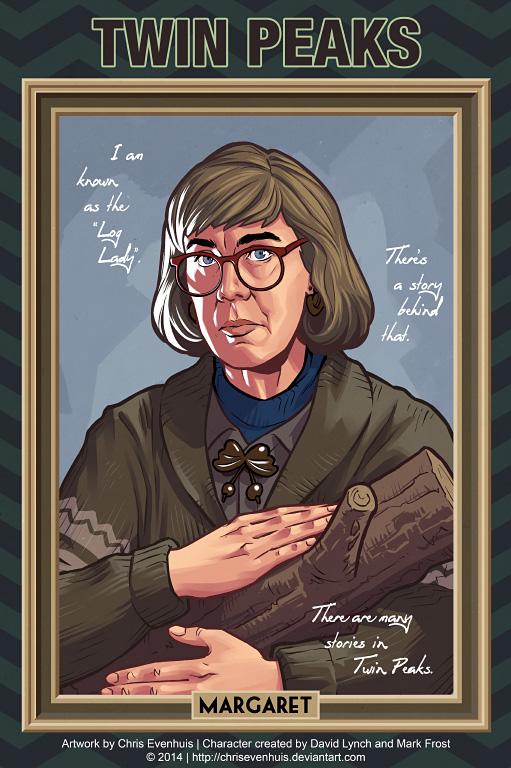 Маргарет Лантерман портрет в стиле комиксов