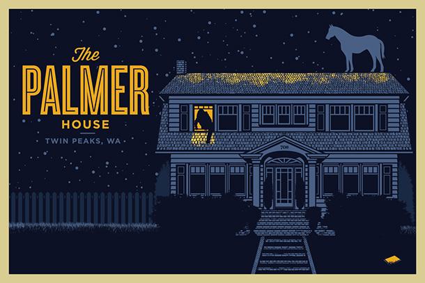 Открытка - Дом семьи Палмеров