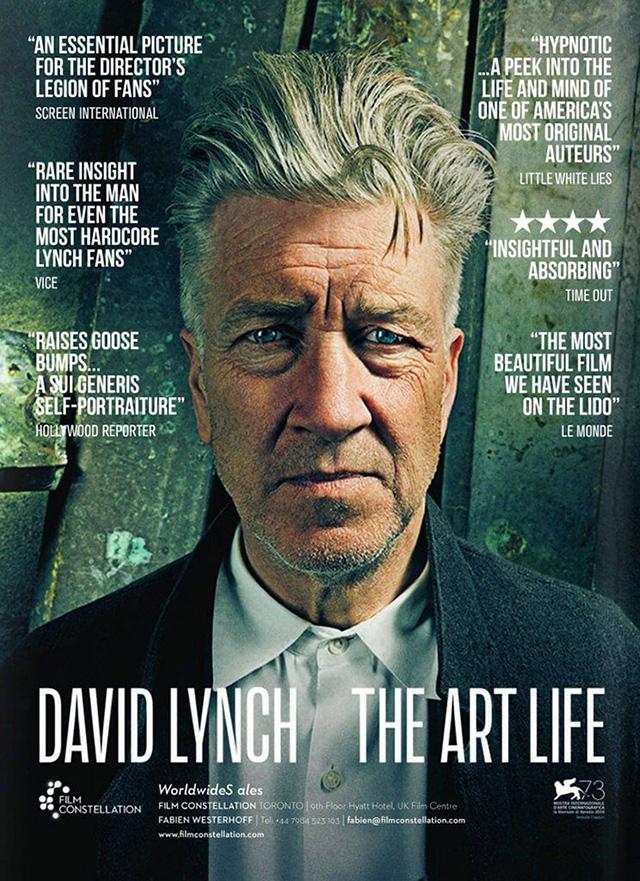Постер фильма Дэвид Линч Искусство жизни