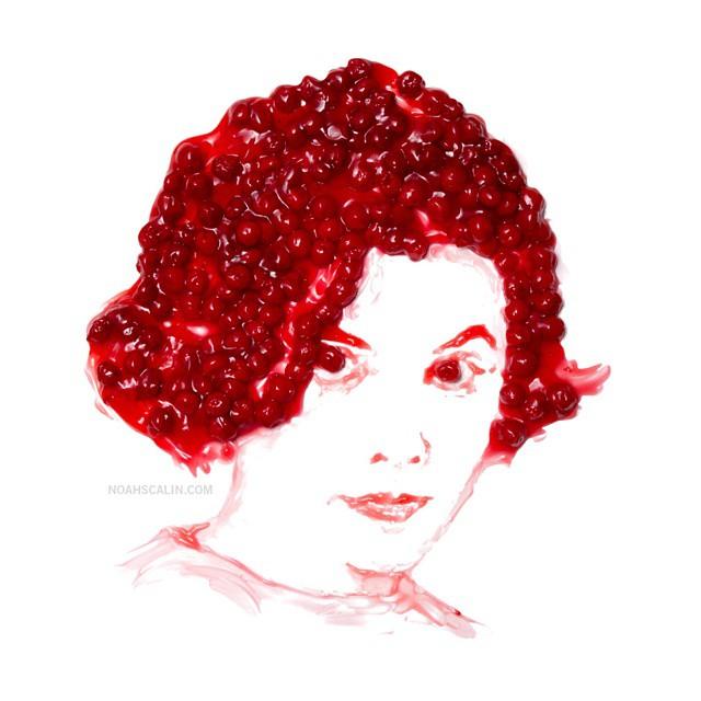 Портреты из начинки вишневого пирога - Одри Хорн