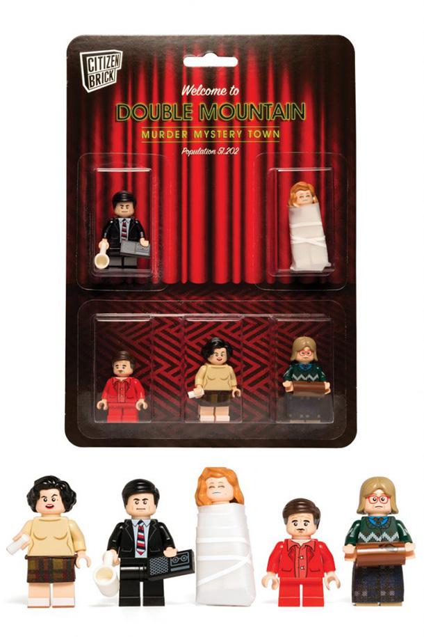 Фигурки Твин Пикс LEGO