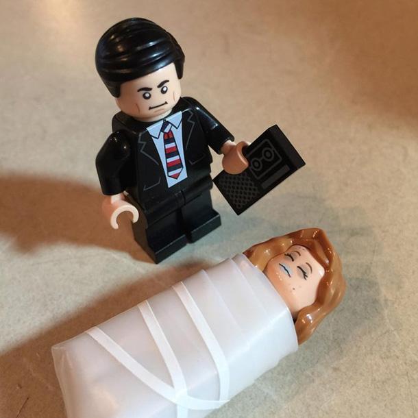 Агент Купер Лора Палмер LEGO