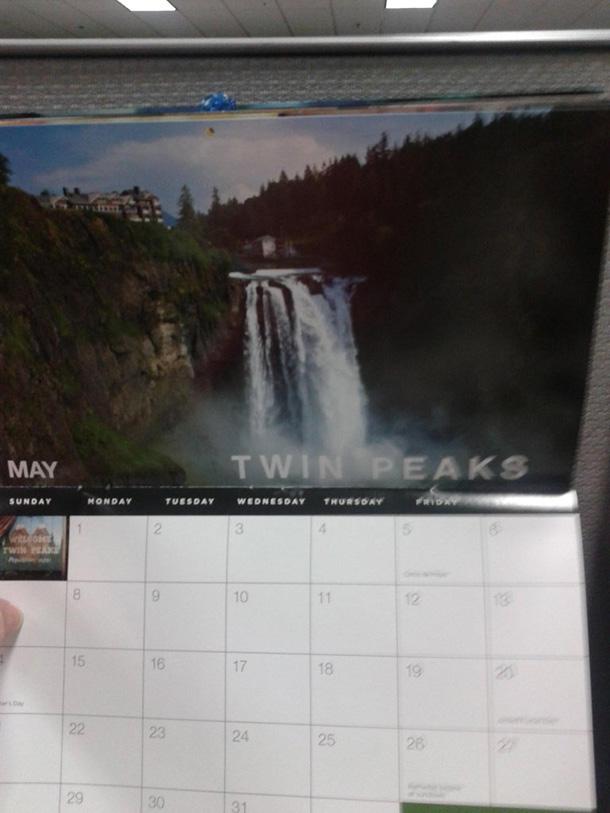 Календарь Твин Пикс 30 апреля