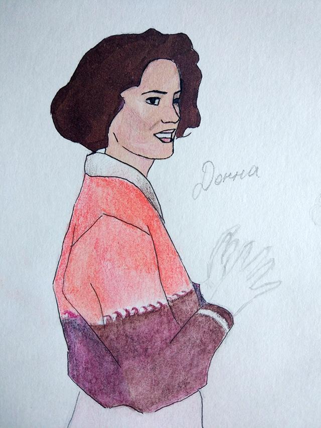 Рисунок Донна Хейворд Елизавета Елисеева
