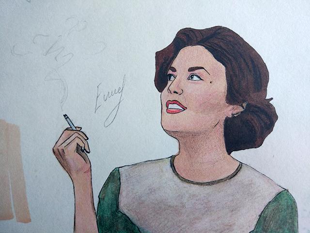 Рисунок Одри Хорн Елизавета Елисеева