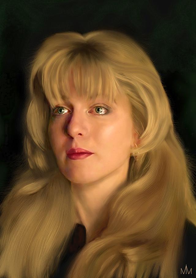Рисунок Лора Палмер Милана Михей
