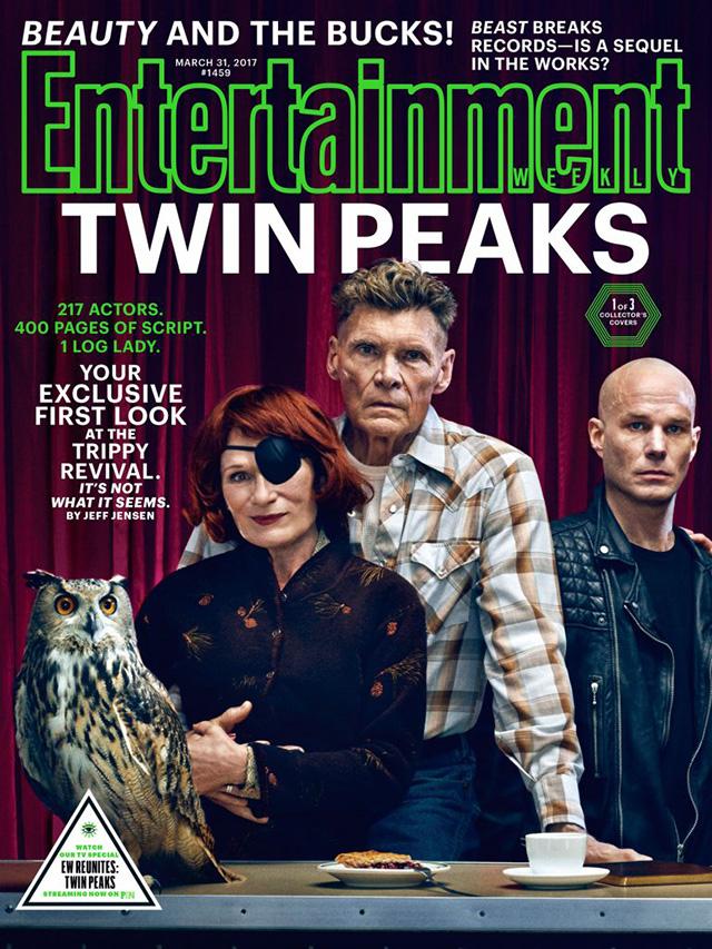 Entertainment Weekly - Обложка Твин Пикс: семья Херли