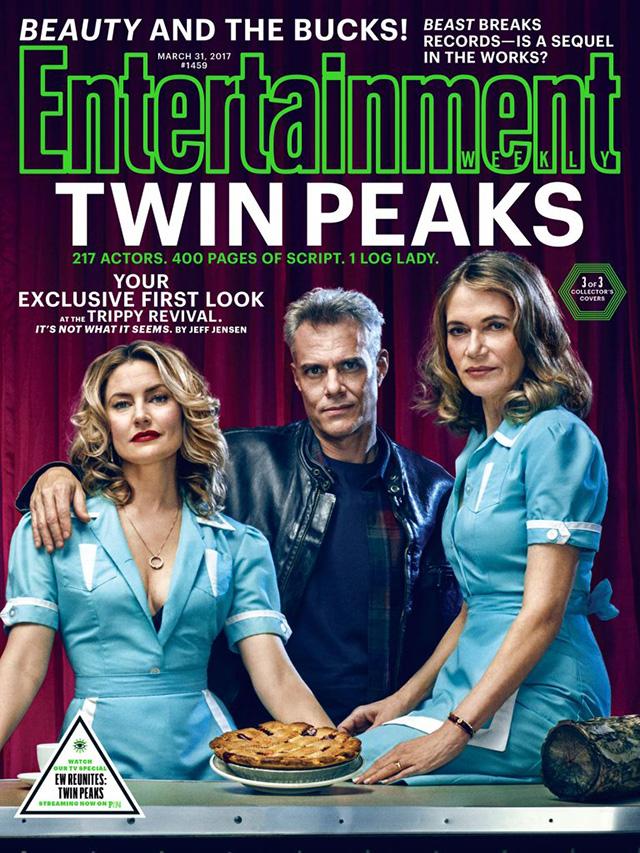 Entertainment Weekly - Обложка Твин Пикс: Шелли, Бобби и Норма