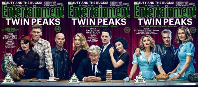 Актеры Твин Пикс на обложке Entertainment Weekly