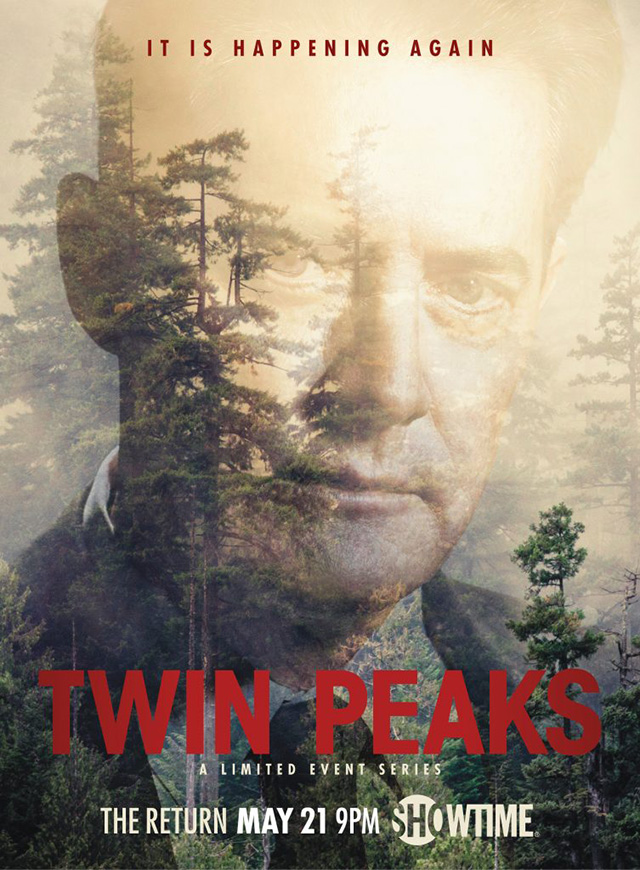 Постер 3 сезона Твин Пикс