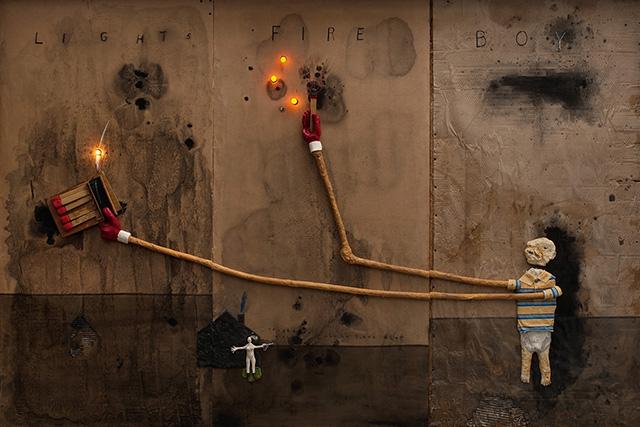 Дэвид Линч. Мальчик зажигает огонь, 2010