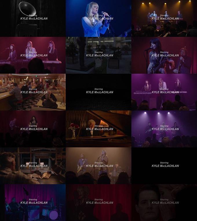 18 заключительных титров 3 сезона Твин Пикс